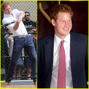 Prince Harry Tours New York & New Jersey on U.S. Trip!