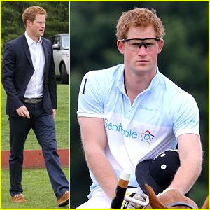 Prince Harry Wraps U.S. Tour with Polo Match in Connecticut!