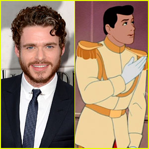 Richard Madden: Cinderella's Prince in Live Action Film!
