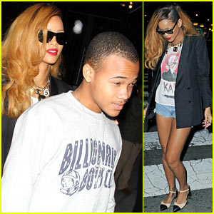 Rihanna Spends Day with Favorite Guy, Brother Rajad!
