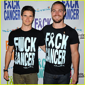 Stephen Amell: F*ck Cancer Event with Cousin Robbie!