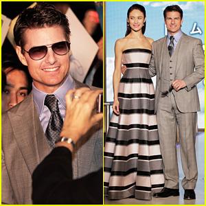 Tom Cruise & Olga Kurylenko: 'Oblivion' Japan Premiere!