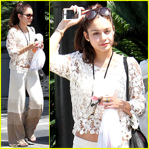 Vanessa Hudgens: Spa Pampering & Pilates Workout!