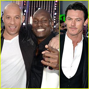 Vin Diesel & Luke Evans: 'Fast & Furious 6' Los Angeles Premiere!