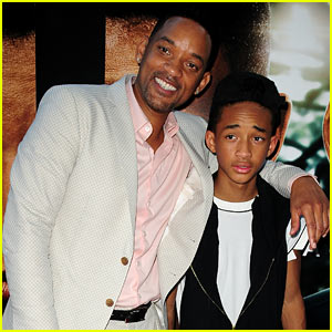 Will &#038; Jaden Smith: 'After Earth' Day Celebrations!