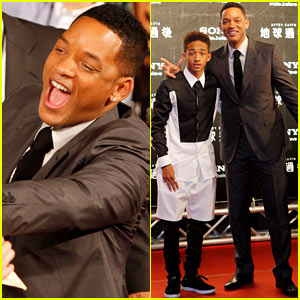 Will & Jaden Smith: 'After Earth' in Taipei!