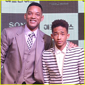 Will & Jaden Smith: 'After Earth' Korea Press Conference!