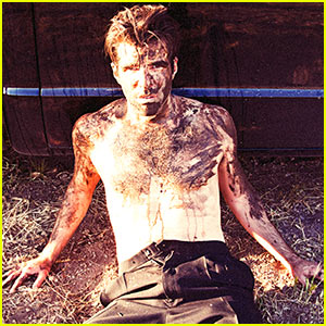 Zachary Quinto: Shirtless & Muddy for Tyler Shields Photo Shoot!