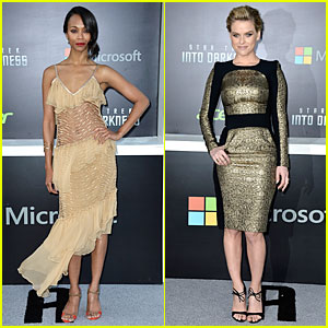 Zoe Saldana & Alice Eve: 'Star Trek Into Darkness' Premiere!