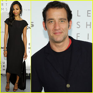 Zoe Saldana & Clive Owen: 'Life Is Amazing' Cannes Screening