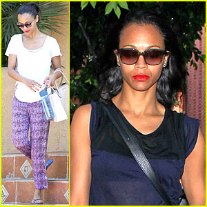 Zoe Saldana: 'Live with Kelly & Michael' Taping Next Week!