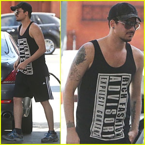 Adam Lambert: Rich Fashion Gas Pumping!