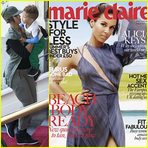 Alicia Keys Covers 'Marie Claire UK' July 2013!