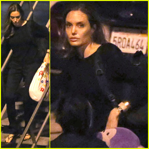 Angelina Jolie & Pax: LAX Arrivial After UN Meeting!