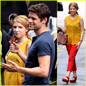 Anna Kendrick & Jeremy Jordan: 'Last Five Years' Set Photos!