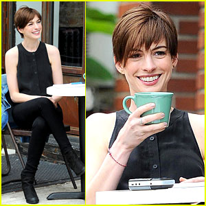 Anne Hathaway Begins Filming 'Song One' in New York City