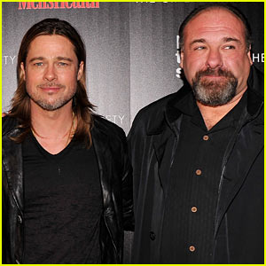 Brad Pitt Reacts to 'Killing Them Softly' Co