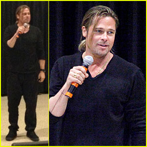 Brad Pitt's Second Surprise in One Day Goes to Philadelphia!