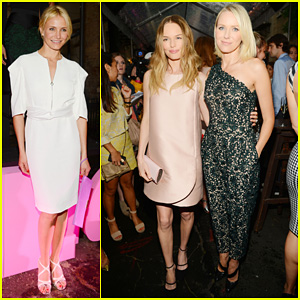 Cameron Diaz & Kate Bosworth: Stella McCartney Spring 2014 Presentation!