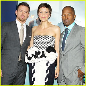Channing Tatum & Jamie Foxx: 'White House Down' NYC Premiere!