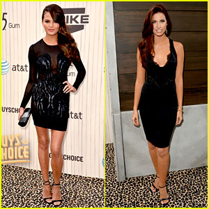 Chrissy Teigen & Katherine Webb - Guys Choice Awards 2013