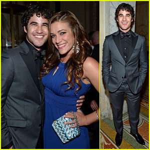 Darren Criss & Mia Swier - Tony Awards After Party 2013