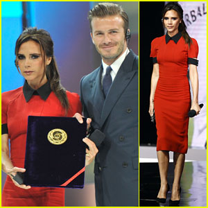 David & Victoria Beckham: Beijing Couple!
