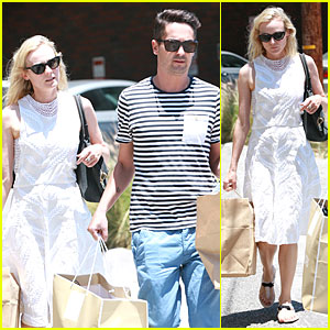 Diane Kruger: Michael Kors Shopping with Micah Schifman!