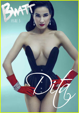 Dita Von Teese Covers 'Bwatt' Magazine Issue 3
