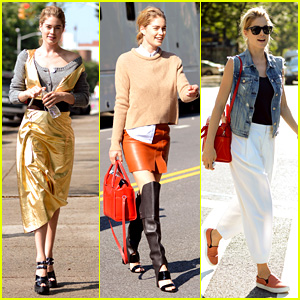 Doutzen Kroes: 'I Love Shooting in the Streets of New York'!