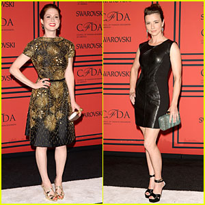 Ellie Kemper & Linda Cardellini - CFDA Fashion Awards 2013 Red Carpet