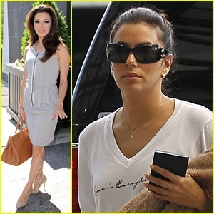 Eva Longoria: 'Mother Up' Promotion After Lake Bell's Wedding!