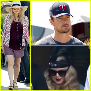 Fergie: Lunch with Josh Duhamel After Flapper Video Shoot!