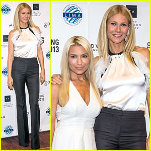 Gwyneth Paltrow: Licensing Expo with Tracy Anderson!