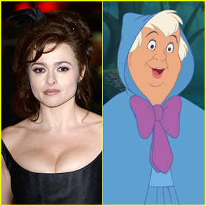 Helena Bonham Carter: Cinderella's Fairy Godmother!