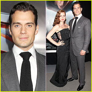 Henry Cavill & Amy Adams: 'Man of Steel' NYC Premiere!