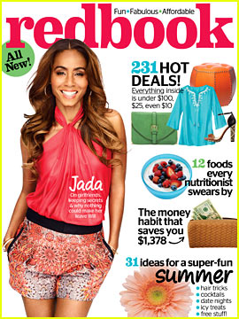 Jada Pinkett Smith Covers 'Redbook' July 2013