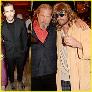 Jake Gyllenhaal Does 'Big Lebowski' for Guys Choice Awards!