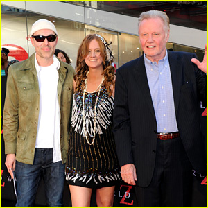 James Haven & Jon Voight: 'World War Z' NYC Premiere!