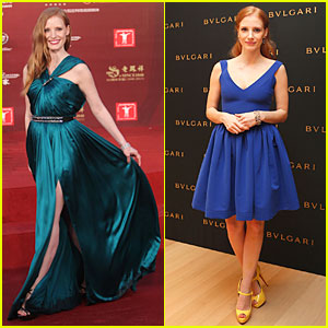 Jessica Chastain: Shanghai International Film Festival Closing Ceremony!