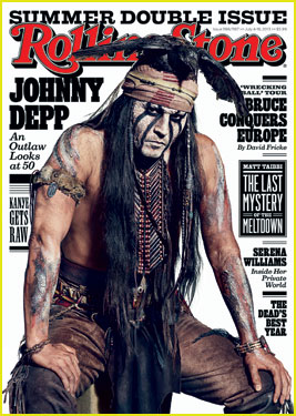 Johnny Depp Covers 'Rolling St
