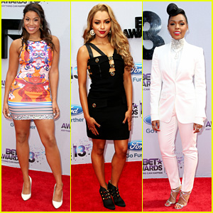 Jordin Sparks & Kat Graham - BET Awards 2013 Red Carpet