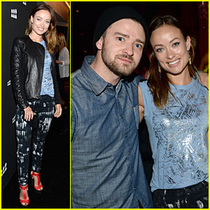 Justin Timberlake & Olivia Wilde: New Myspace Launch!