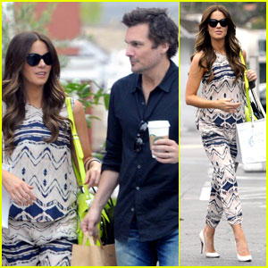 Kate Beckinsale & Len Wiseman Go Shopping in Santa Monica