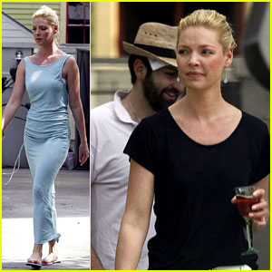 Katherine Heigl & Josh Kelley Run Errands in New Orleans
