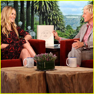 Kristen Bell: Sloth Filled 'Ellen' Appearance!