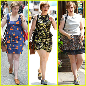 Lena Dunham Tweets on Menopause & Underwear!