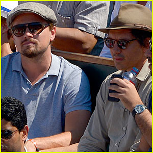 Leonardo DiCaprio Watches Rafael Nadal Defeat Novak Djokovic