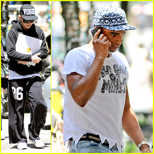 Madonna & Brahim Zaibat: Kabbalah Visit with the Kids