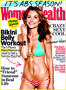 Maria Menounos Flaunts Bikini Bod for 'Women's Health'